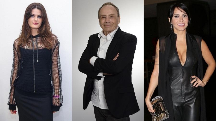 Isabeli Fontana, Stenio Garcia e Alinne Rosa - Divulgação