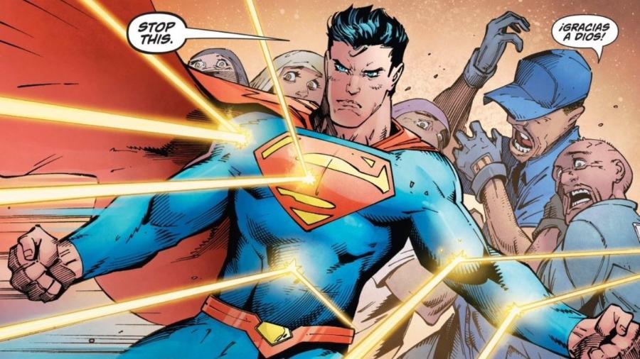Superman defende imigrantes em HQ - Reprodução