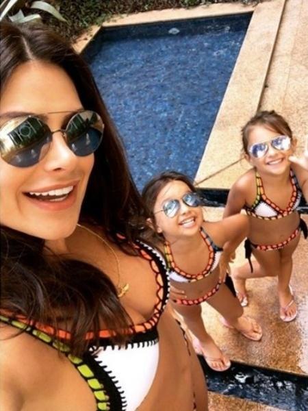 Natália Guimarães curte folga com as filhas - Reprodução/Instagram/nataliagoficial