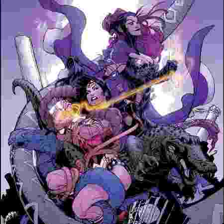 Mulher Maravilha e Circe nos quadrinhos - Reprodução - Reprodução