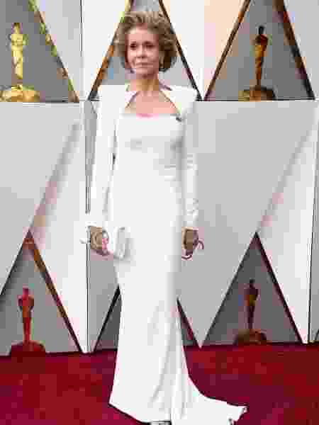 Jane Fonda no Oscar 2018 - Getty Images