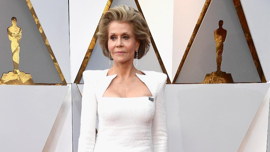 Jane Fonda no Oscar 2018 - Getty Images