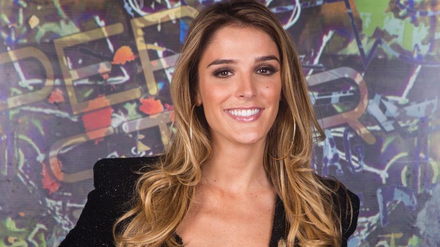 A repórter Rafa Brites - Tata Barreto/TV Globo