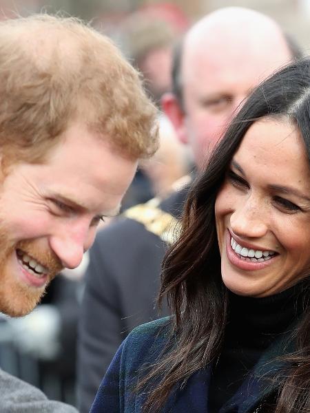 Meghan Markle e o príncipe Harry - Getty Images