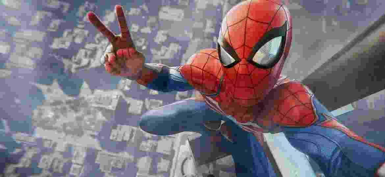 Spider-Man tirando uma selfie - Divulgação