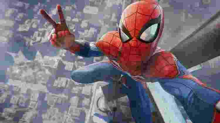 A nova aventura do Homem-Aranha é exclusiva para PlayStation 4. - Divulgação