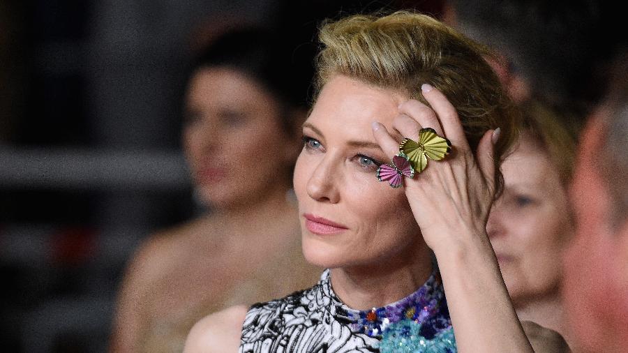 Cate Blanchett durante o 71º Festival de Cannes - Getty Images