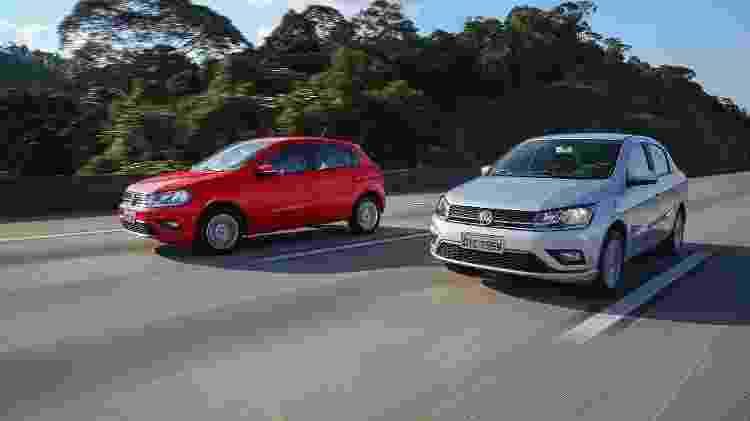 Volkswagen Gol e Voyage AT - Divulgação - Divulgação