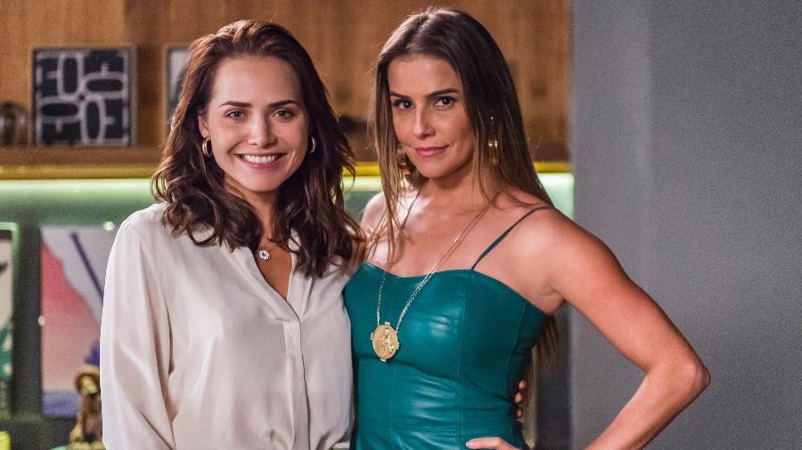 "Letícia Colin e Deborah Secco, Rosa e Karola em ""Segundo Sol"" - Paulo Belote/Globo"