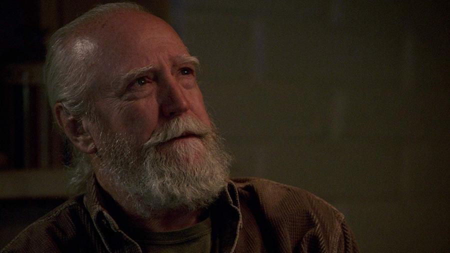 """Scott Wilson como Hershel Green em """"The Walking Dead"""" - Reprodução"""