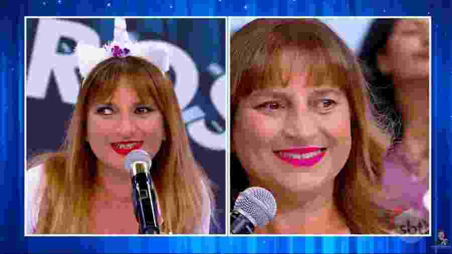 Adriana Biacchi ganhou a cirurgia de correção do estrabismo de Silvio Santos - Reprodução/SBT
