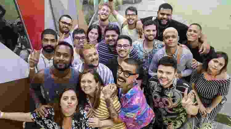 """Jornalistas e influencers são confinados na casa do """"BBB19"""" em ação promocional do reality show - Divulgação/Globo"""