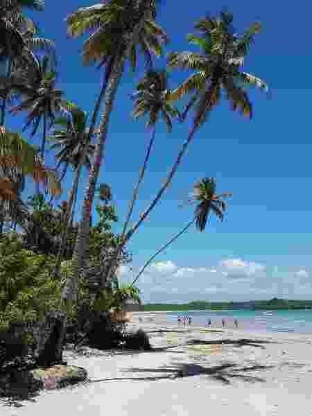 A praia de Bainema é ideal para uma tarde de sol em Boipeba - Marcel Vincenti/UOL