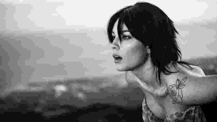 A cantora Halsey - Divulgação