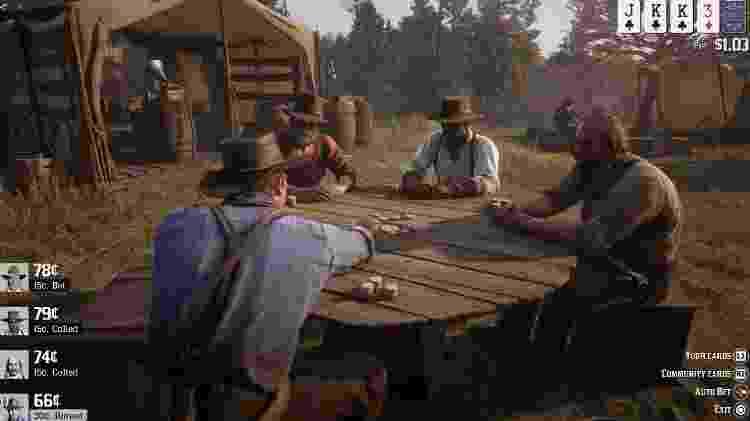 Poker Red Dead 2 - Reprodução - Reprodução