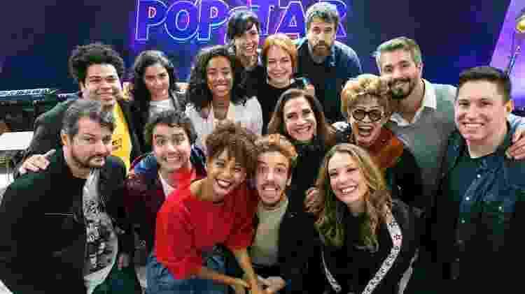 Jakson Follmann e o elenco 2019 de PopStar, reality show musical da Rede Globo - Paulo Belote/Rede Globo - Paulo Belote/Rede Globo