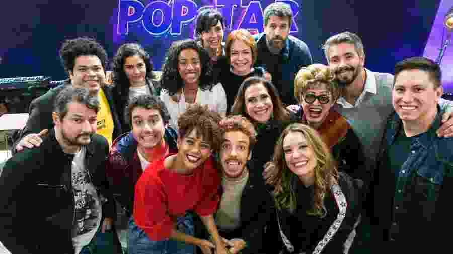 Jakson Follmann e o elenco 2019 de PopStar, reality show musical da Rede Globo - Paulo Belote/Rede Globo