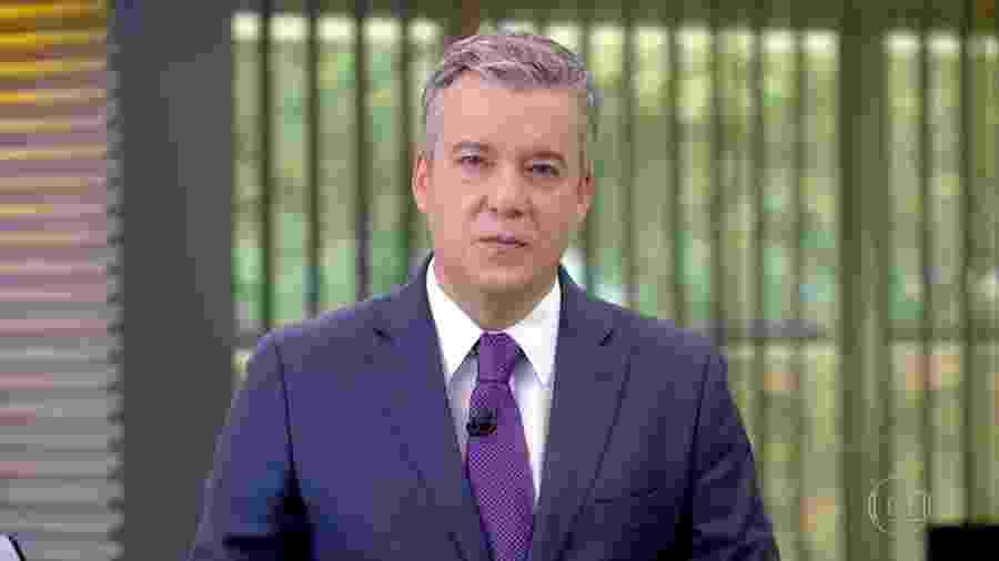 Roberto Kovalick apresentando o Jornal Hoje de 31 de agosto; jornalista substituirá Monalisa Perrone no Hora 1 - Reprodução/TV Globo