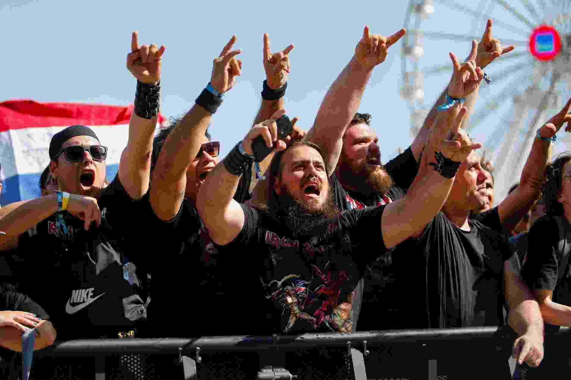 Fãs de metal marcam presença no quinto dia do Rock In Rio 2019 - CLAUDIA MARTINI/FUTURA PRESS/ESTADÃO CONTEÚDO