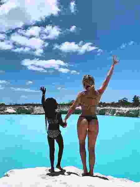Titi e Giovanna Ewbank no Ceará - Reprodução/Instagram