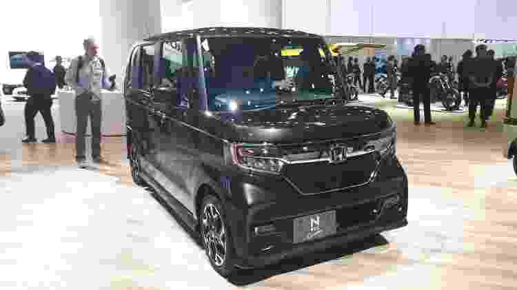 Cara de City: N-Box é sucesso no mercado japonês - Vitor Matsubara/UOL