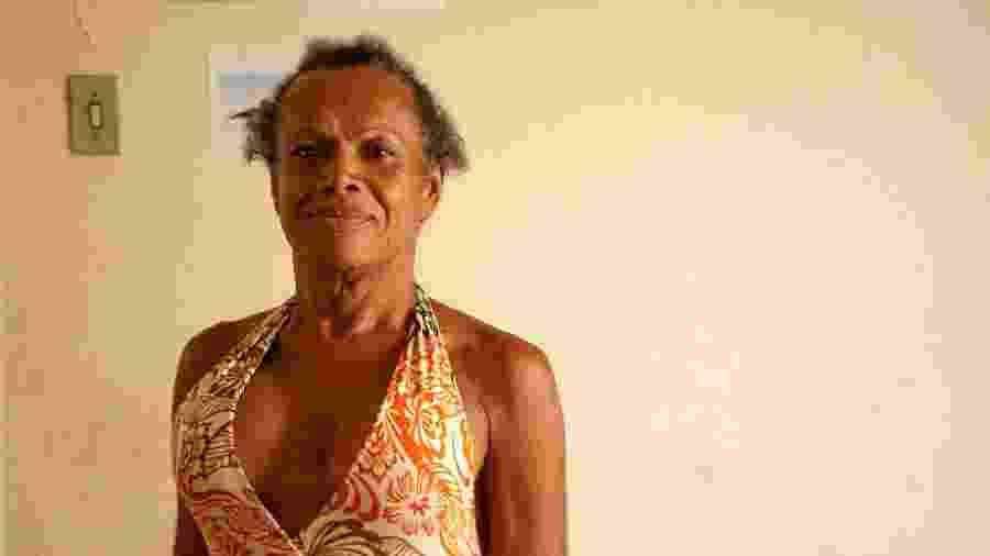 Claudia, moradora da Casa Nem - Fabiana Batista/UOL