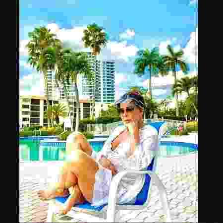 Zilu passa férias em Miami - Reprodução