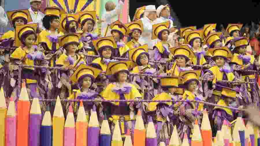 Águia de Ouro foi a grande campeão do Carnaval de São Paulo - Ricardo Matsukawa/UOL