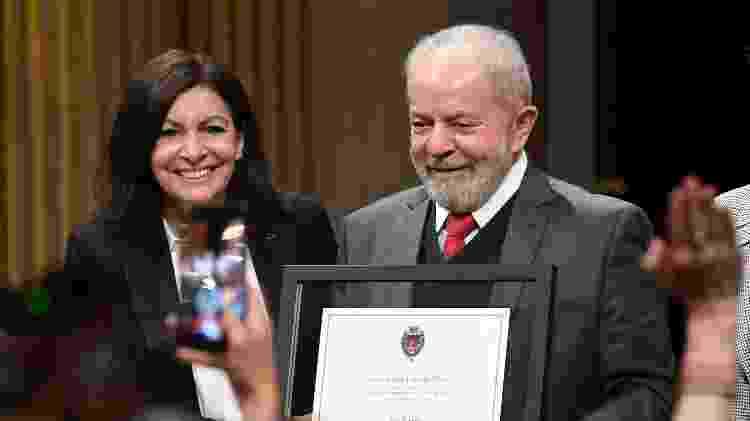Lula e Hidalgo - AFP - AFP