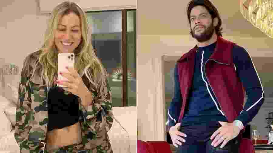 Iran Ângelo e o ex-marido, Hulk Paraíba - Reprodução/Instagram