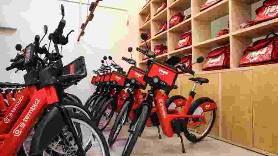 iFood terá bikes elétricas para aluguel destinado a entregadores - Divulgação