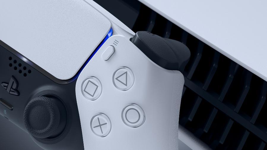PS5 DualSense - Divulgação/Sony