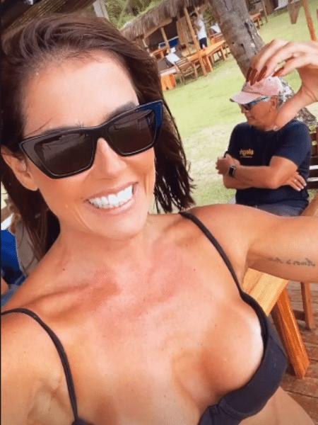 Deborah Secco não via o sogro há quase 1 ano - Reprodução/Instagram