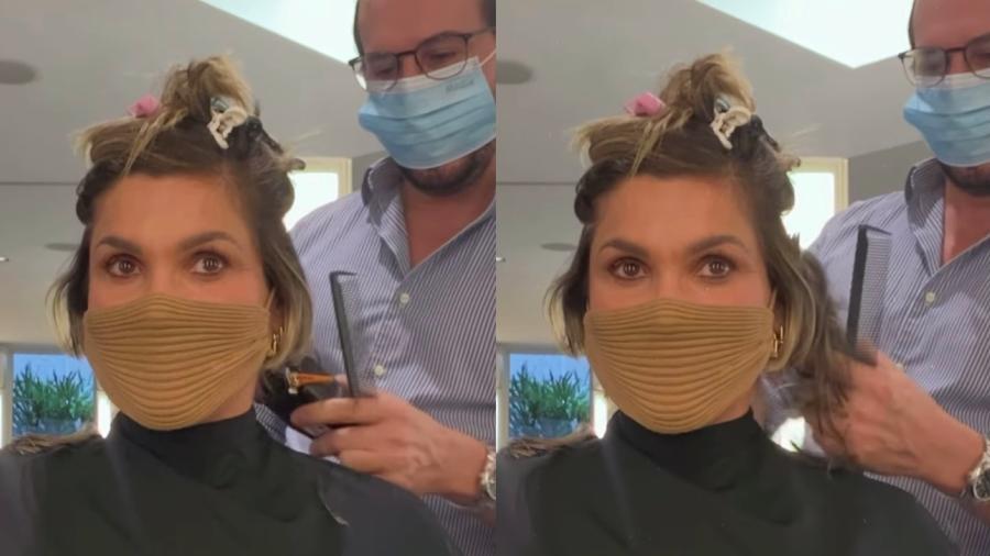 Flávia Alessandra muda de visual após término de gravações de novela - Reprodução/ Instagram @flaviaalessandra