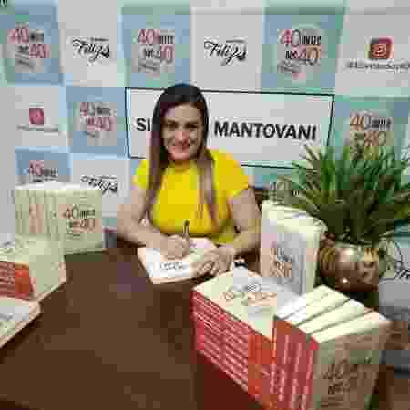 Silvinha Mantovani, lançamento livro - arquivo pessoal - arquivo pessoal