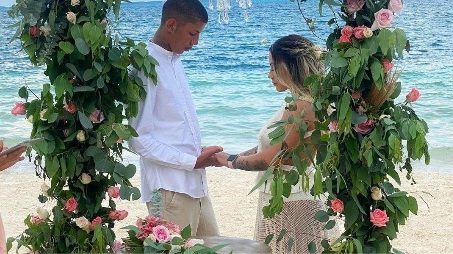 MC Don Juan se casa com DJ Allana em Cancún, no México - Reprodução/Instagram