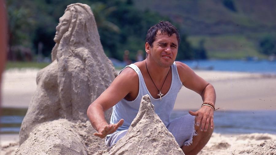 """Marcos Frota interpreta Tonho da Lua em """"Mulheres de Areia"""" (1993) - Divulgação/Viva"""