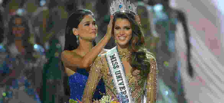 A francesa Iris Mittenaere é escolhida como Miss Universo 2017 - AFP