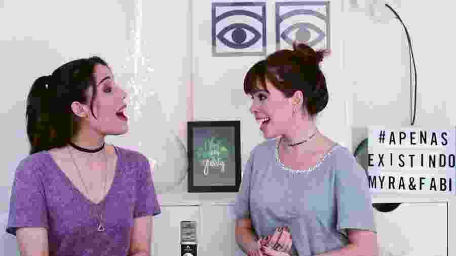 As atrizes Myra Ruiz e Fabi Bang lançam canal juntas no YouTube - Reprodução