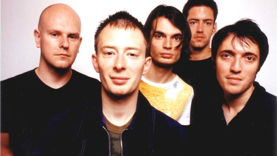 Radiohead em 1997 - Divulgação