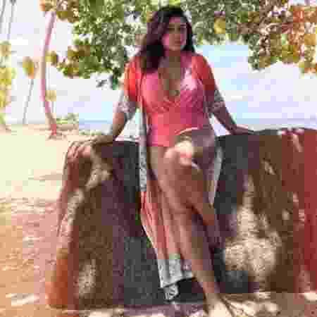 Preta Gil em praia de Porto Rico - Reprodução/Intagram