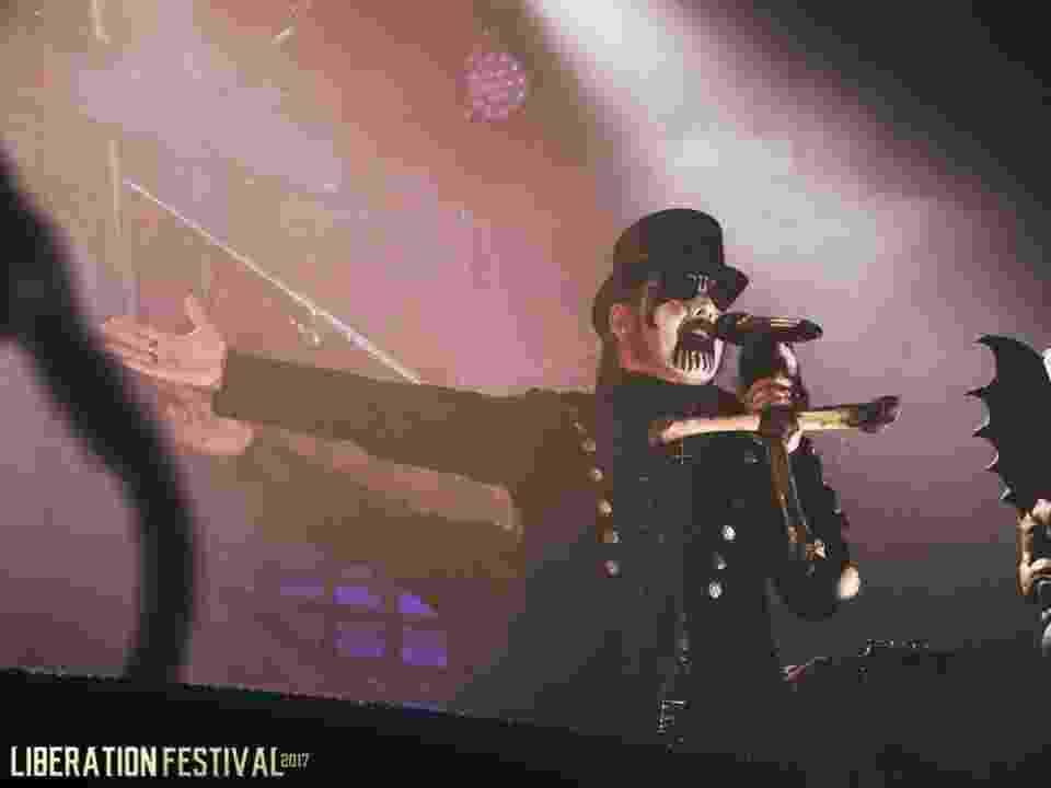 King Diamond se apresenta no Liberation Festival, no Espaço das Américas, em São Paulo - Divulgação