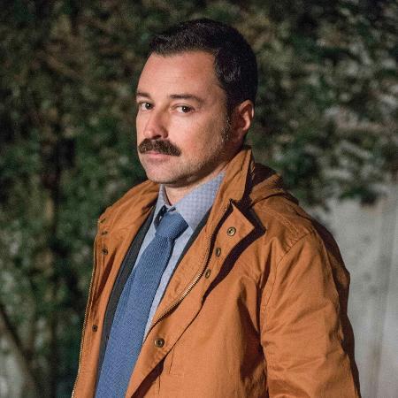 "Emílio Orciollo Netto como Damasceno na novela ""Sol Nascente"" - Renato Rocha Miranda/Divulgação/TV Globo"