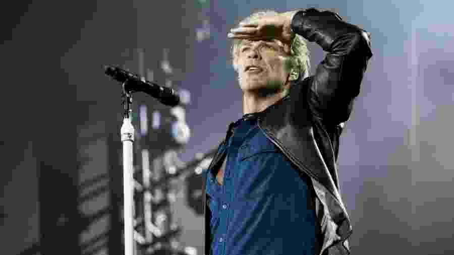 Bon Jovi se apresenta no domingo (22), no estádio do Arruda, em Recife - Mariana Pekin/UOL