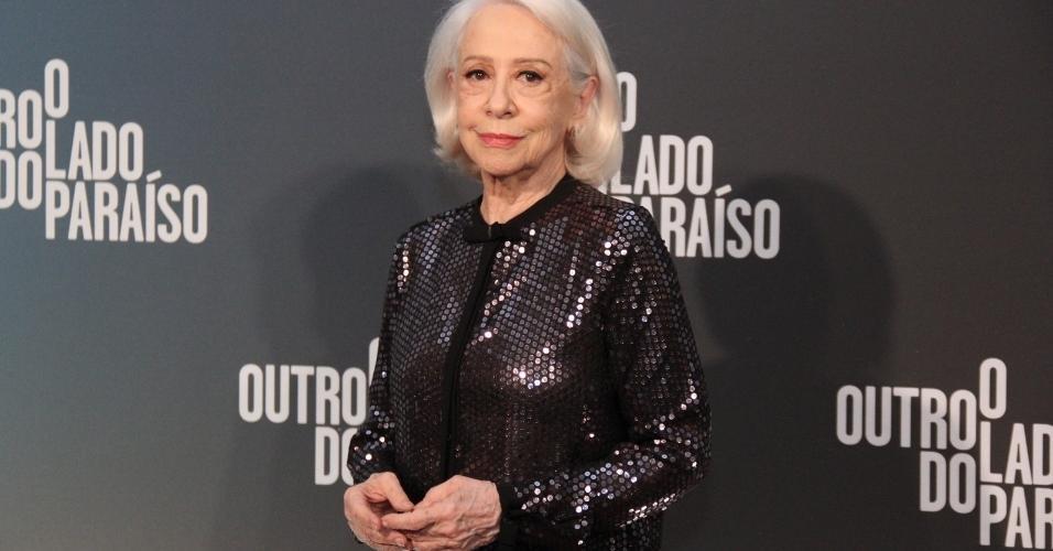 "Fernanda Montenegro vai ao lançamento de ""O Outro Lado do Paraíso"""