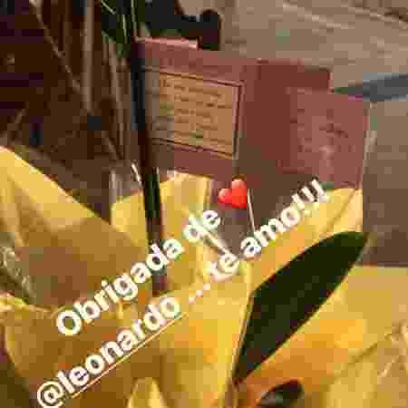 Poliana Rocha mostra presente do marido, Leonardo - Reprodução/Instagram/poliana - Reprodução/Instagram/poliana