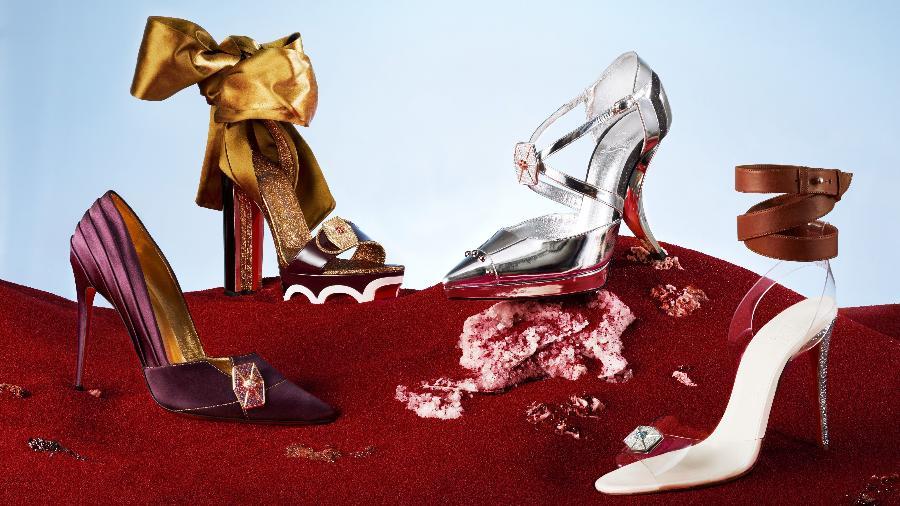 """A linha de sapatos de Christian Louboutin inspirada em """"Star Wars"""" - Divulgação"""