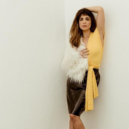 Maria Ribeiro posa para campanha de moda - David Gonçalves/Divulgação