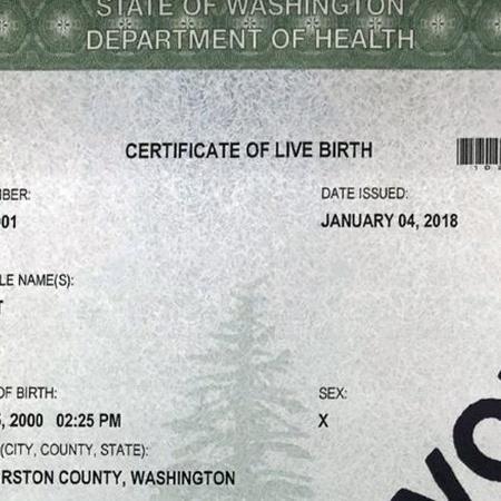 Certidão de nascimento do estado de Washington - Reprodução/CNN