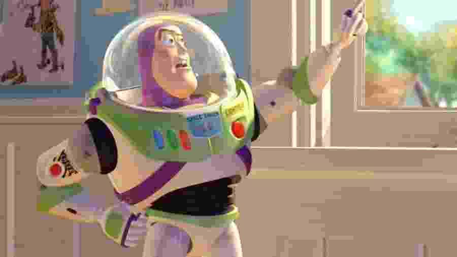 """Cena de """"Toy Story"""" (1995) - Divulgação"""
